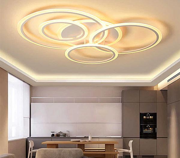đèn mâm acrylic