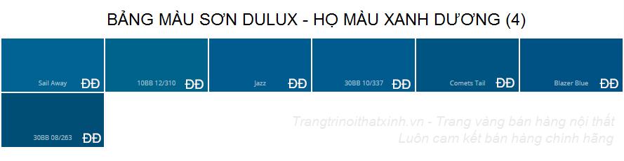 Bảng màu sơn dulux 23