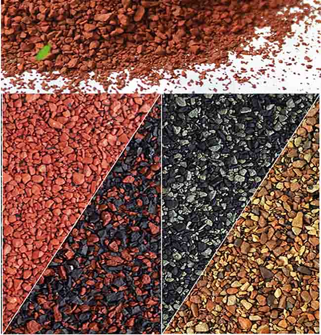 Hạt đá phủ bề mặt ngói Bitum