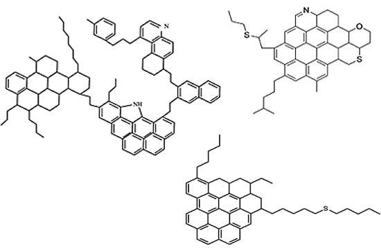 cấu tạo phân tử bitumen